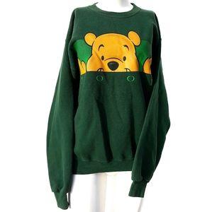 The Disney Store | Pooh Bear Sweatshirt Vintage S